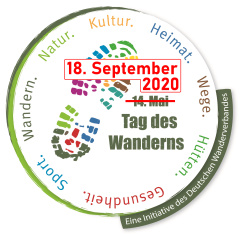 Tag des Wanderns am 18. September 2020